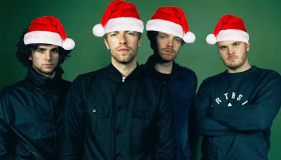 Coldplay santa