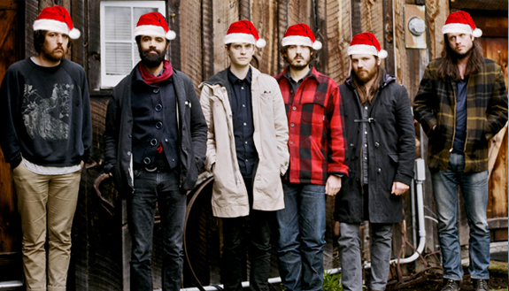 Fleet Foxes santa