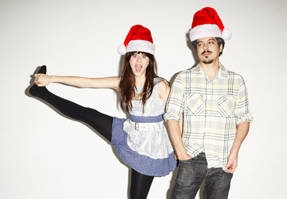 She and Him Santa
